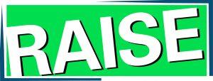 raise center logo